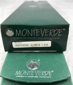 Monteverde Olympia ballpoint, Tigers Eye
