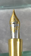 Visconti Columbus Pen Show LE fountain pen nib detail